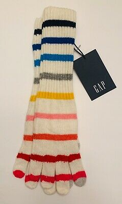 GAP Stripe Smartphone Tall Gloves One Size