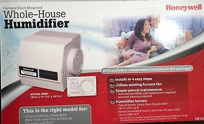 HONEYWELL WHOLE HOUSE Bypass Drum Humidifier £109.99