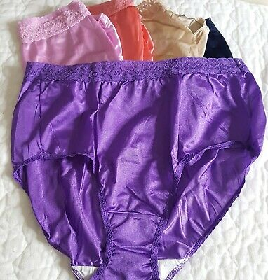 Lot of 5 Size 9 Silky Fruit of the Loom FOTL Panties Hipsters Granny Panty