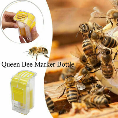 5.5*4*9cm Queen Bee Catcher Plastic One Handed Marker Bottle Plunger Plush Tools