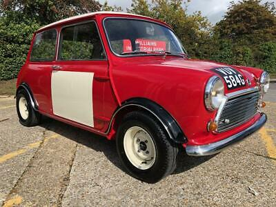 1968 Morris Mini Cooper MK2. 1293cc. Stunning retro racer looks. Awesome machine