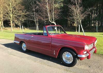 1967 Triumph Vitesse 2 litre - Overdrive, Charming factory Convertible RESERVED
