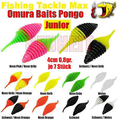 FTM Omura Baits Pongo 65 65mm 6,5cm Käse Schwarz Neon Orange 8500132 Ultra Light