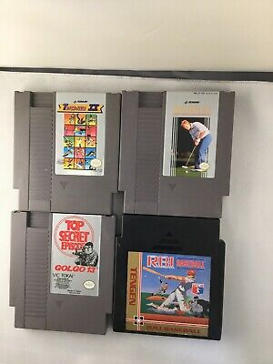 NES Nintendo Video Game Lot 4 Games