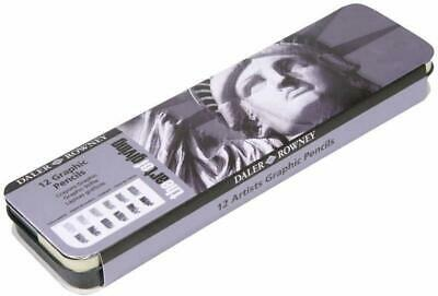 Daler Rowney Artist Graphic 12 Pencil Tin