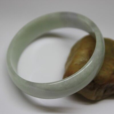 CERTIFIED Natural Grade A Untreated Lavender Jadeite JADE Extra Small Bangle