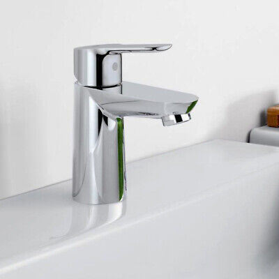 GROHE® Start Edge Mixer Tap Chrome Pop-Up Waste, Adaptor included Simple Install