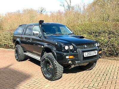 Mitsubishi L200 2.5 TD Warrior Pickup Off-Roader Monster Truck 4x4 33inch Tyres