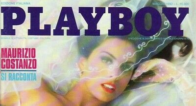 Italian Italy Playboy May 1992 Foreign Magazine Yvonne Le Jour Nude Playmate Vg