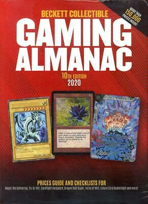 2020 Beckett Collectible Gaming Almanac Card Price Guide 10th Edition Yu-Gi-Oh