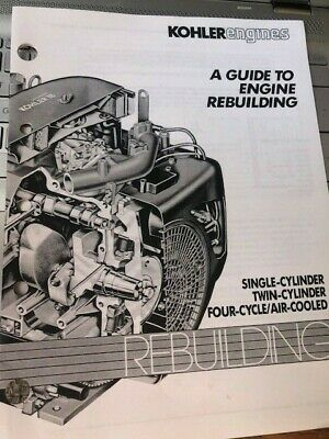 Kohler 1 & 2 Cylinder Guide to Engine Rebuilding Service Repair Manual