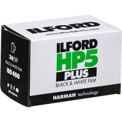 Ilford HP5 Plus Black & White 36 Exp 35mm Film - Single Roll