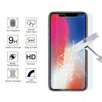 For Apple iPhone X /XS /XS Max / XR / 8 / 8 Plus Tempered Glass Screen Protector