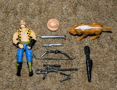GI Joe Weapon Gnawgahyde Arrow Quiver Backpack 1989 Original Figure Accessory