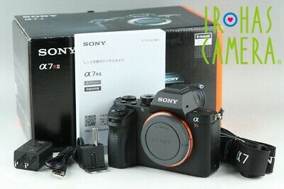 Sony Alpha a7R II Digital Camera *Japanese Language Only* With Box #24225