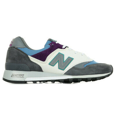 Chaussures Baskets New Balance homme 577 Made In UK taille Gris Grise Cuir