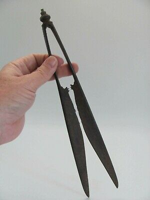 Pair of Antique Thai / Southeast Asian Iron Scissors