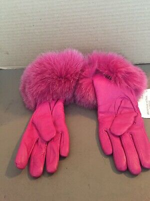 Artic Dreams Ladies Leather Gloves Size Large
