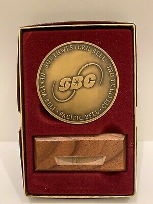 Vintage Southwestern Bell Sbc 1997 Communication Inc Bronze Coin
