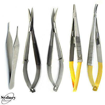 Micro surgical Spring Action Implant Medical Noyes Scissors Suture Castroveijo