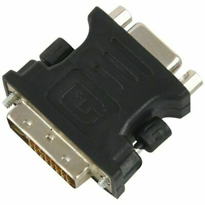 HDMI adapter DVI 24 + 5 Pin male to VGA female Connector Adapter FbS1 U9J4