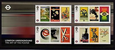 GB 2013 Commemorative Stamps~London Underground~ M/S~Unmounted Mint Set~UK