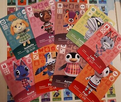 Animal Crossing Amiibo Series 3-4 Cards # 201-400 - Cheap! :)