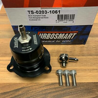 Ford Focus 2.0 MK3 ST250 TURBOSMART Shortie BOV Dual Port Dump Valve