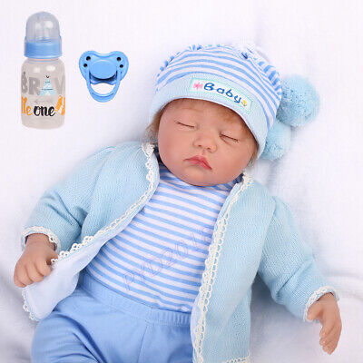 22'' Baby Boy Doll Realistic Reborn Soft Silicone Vinyl Handmade Toddler Gifts