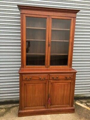 Edwardian Mahogany Bookcase with glazed door in very nice condition