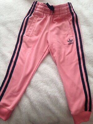 Adidas Girls Tracksuit Bottoms 4-5