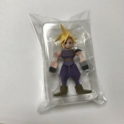 FINAL FANTASY VII REMAKE Polygon Mini Figure Cloud Strife Square Enix Memorial
