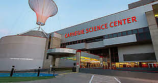 Two (2) admission passes to Carnegie Science Center