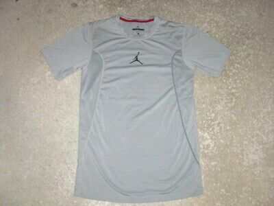 NIKE AIR JORDAN fitted dri fit training shirt men's Small