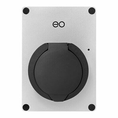EO EM002-DCL-WCS eoMINI EV Charger 7.2kW/32A Single Socket - Silver - DCL
