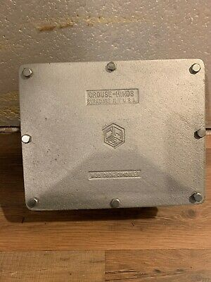 CROUSE-HINDS WJB0806 Explosion Proof Box