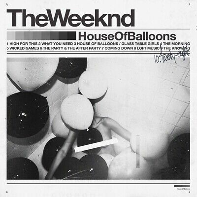 The Weeknd - House Of Balloons CD Republic NEW