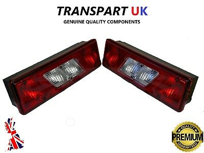 FORD TRANSIT MK8 TIPPER PICKUP TRUCK RECOVERY LUTON REAR PAIR TAIL LIGHT LAMP x2