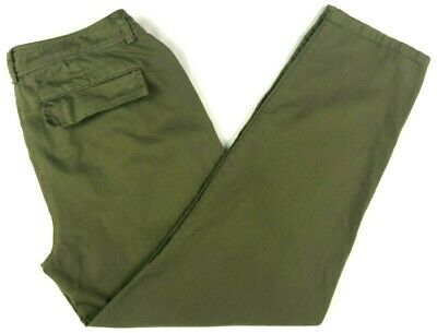 """Eileen Fisher Womens (2P) 100% Organic Cotton Ankle Pants Casual Inseam 24"""""""