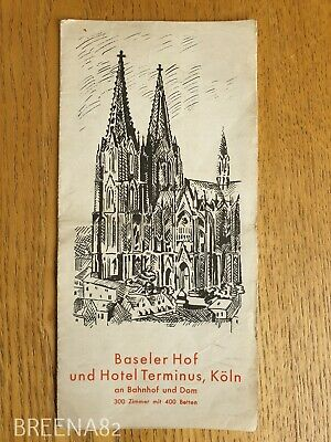 Vintage Pre WW2 1930's Tourist guide - Fold out map book KOLN GERMANY