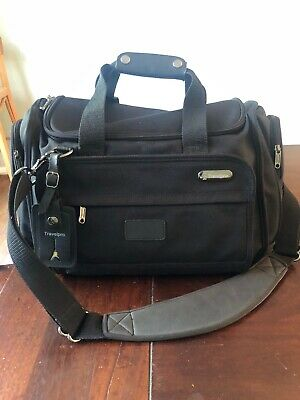 Travelpro  2-Lite Overnite Case Luggage Tote Duffle Bag Black Excellent Cond