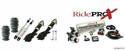 Complete Ridetech Digital Air Suspension Kit, 2015-2018 Ford Mustang,Compressor