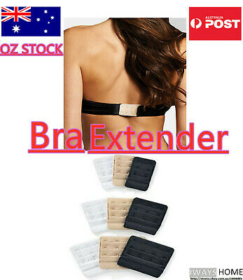 Bra Extender 2 3 4 Hook Maternity Size Plus Bra Strap Extension Cup Clip On NEW