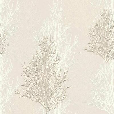 3,00 Wallpaper branch tree brown bronze 32713-2 AS Creation Borneo Wallcovering