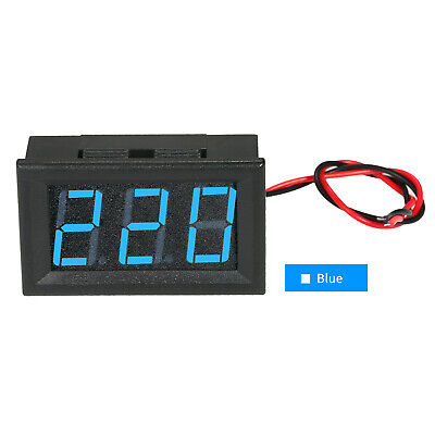 "DC5V-120V 0.56"" LED Digital Voltmeter Voltage Tester Meter Panel Meter 2 X7V7"