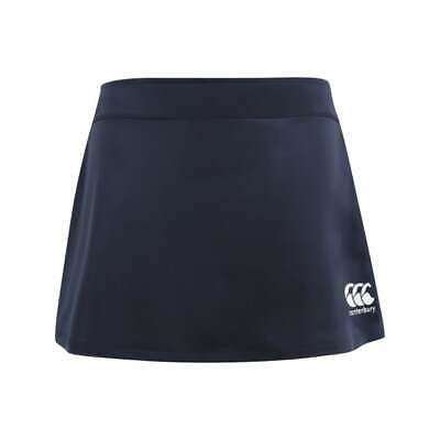 CANTERBURY WOMENS/GIRLS PLAIN SKORT NAVY - hockey, shorts, skirt, netball