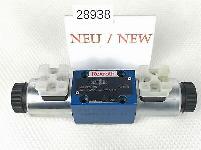 Rexroth 4WE 19 8/12ft62/EG24N9K4/B10 Solenoid Valve R900944724