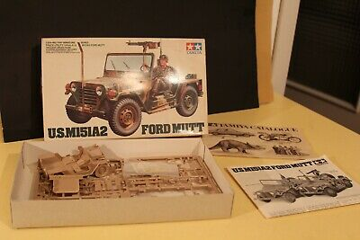 1:24 scale plastic kit tamiya ford mutt US M151A2 da montare