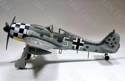 Easy Model 36401 - Focke Wulf FW190 A-6 - Luftwaffe JG1 German WW2 Fighter Plane