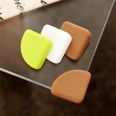 4pcs Baby Table Corner Protector Silicone Safe Collision Angle Protection MH